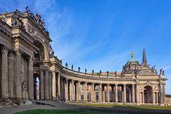 Neue Palais in Potsdam Aufnahme vom 9. Febr. 2020