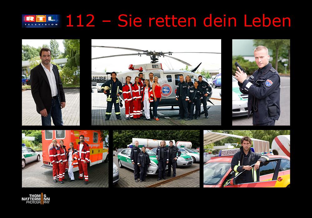 """Neue RTL Serie """"112 - Sie retten dein Leben"""""""