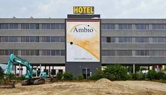 Neue Rückansicht des Hotels Ambio!