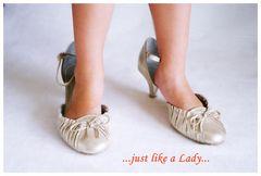 neue Schuhe!