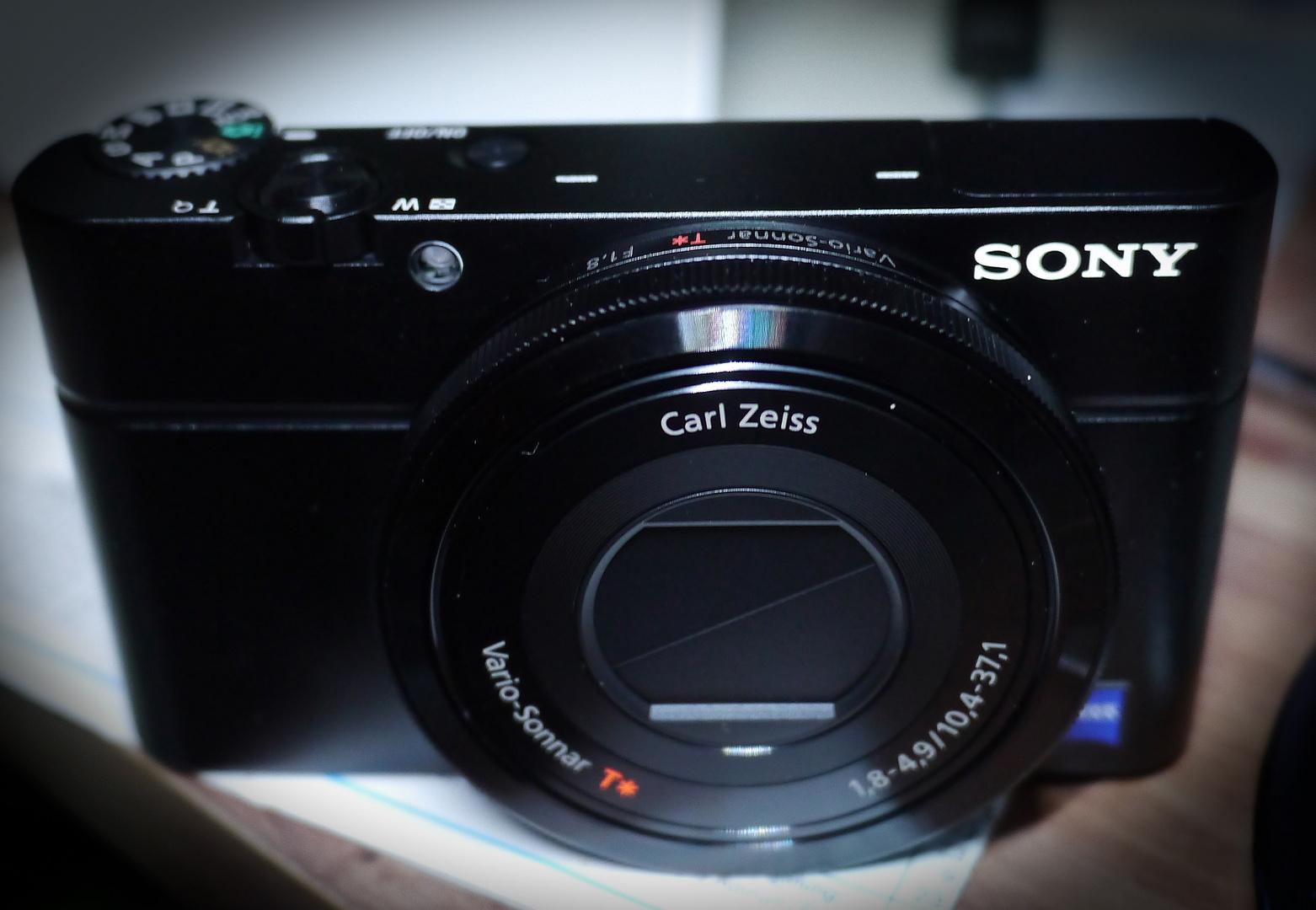 neue Sony RX100