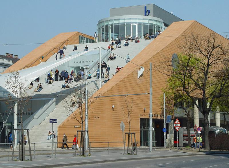 Neue Stadtbücherei in Wien