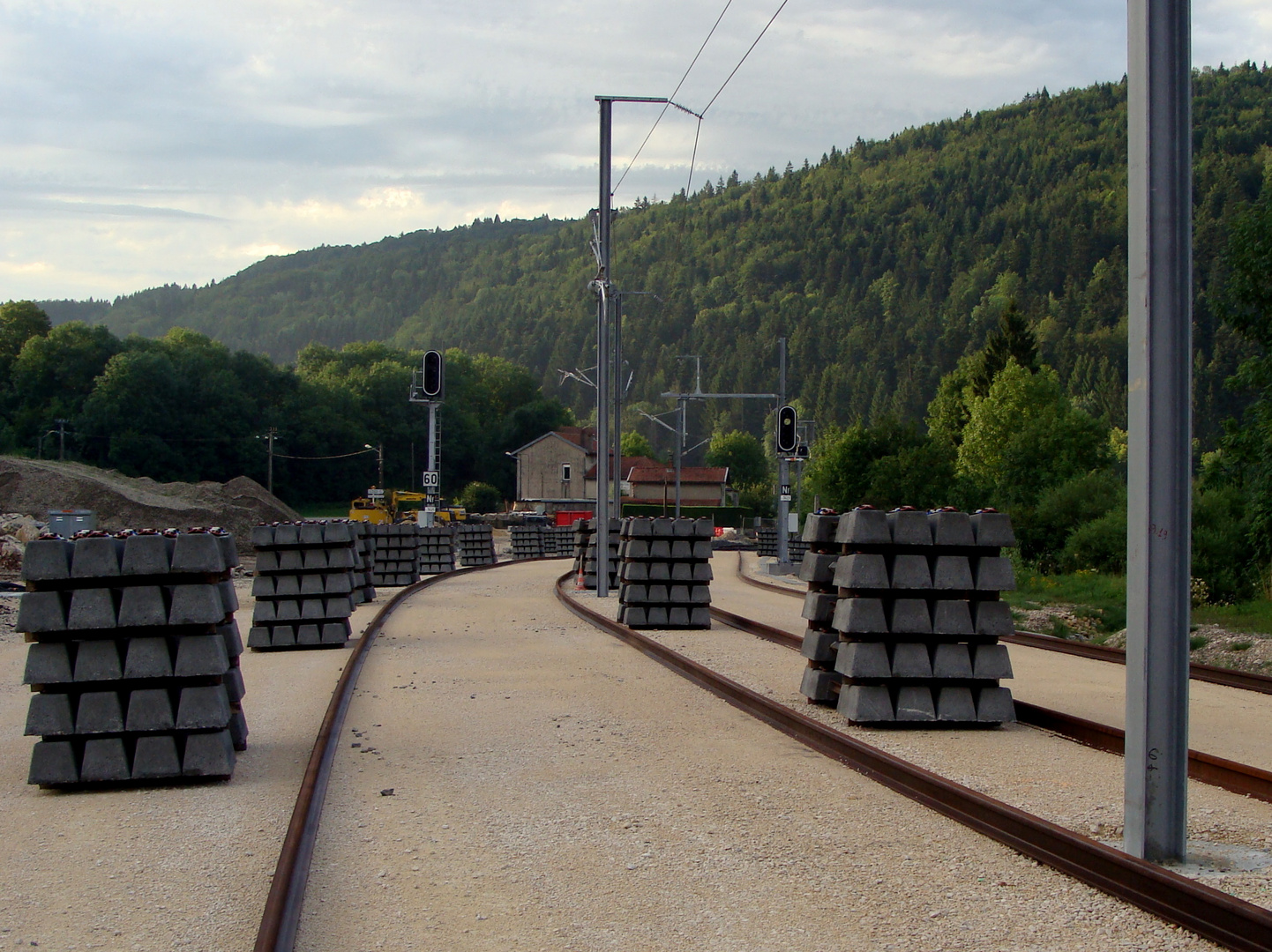 Neue TGV Strecke: Genève - Paris...02