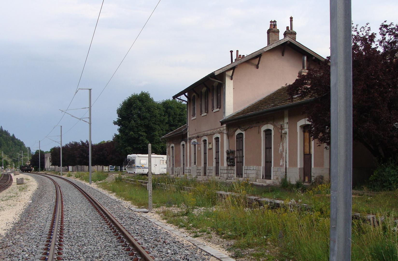 Neue TGV Strecke: Genève - Paris...03