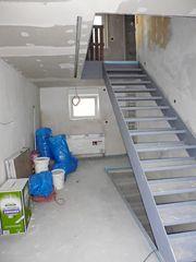 neue Treppe ins OG