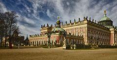 Neuen Palais in Potsdam Park Sanssouci.