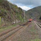 Neuer DB Tunnel in Ediger-Eller mt Güterzug