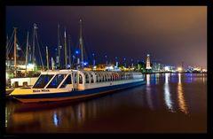 neuer Hafen in Bremerhaven