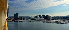 Neuer Hafen in Oslo..( mit Neuer Oper)