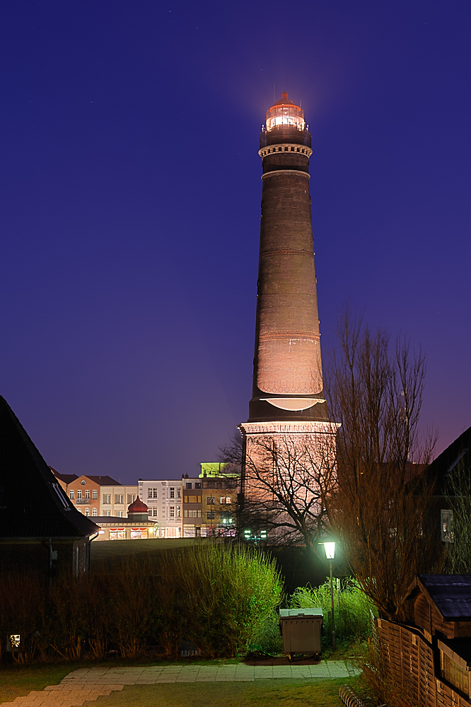 Neuer Leuchtturm Borkum