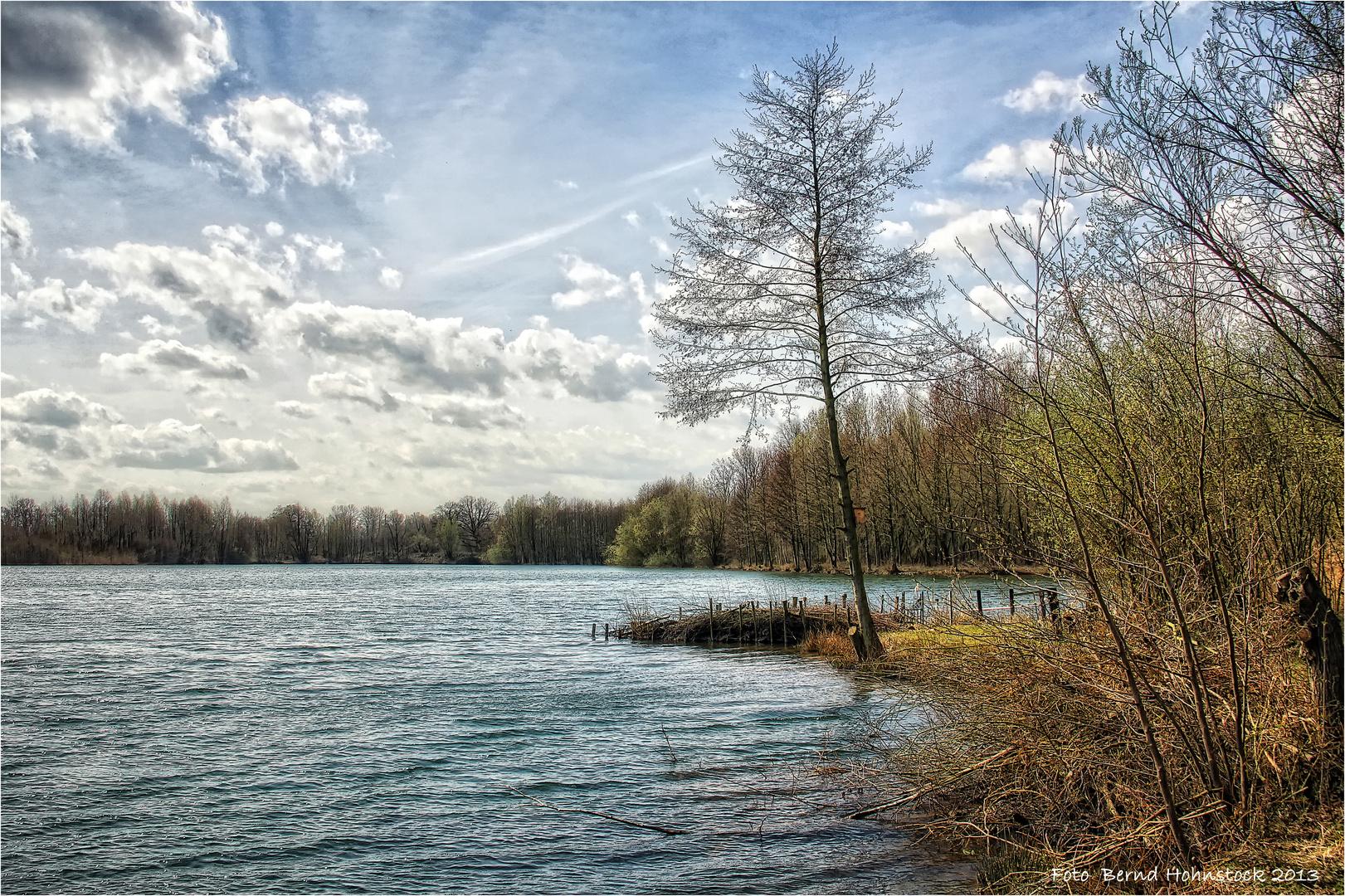neuer Niersee Viersen, am linken Niederrhein ....