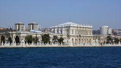 Neuer Palast des Sultan im Jahre 1853 fertig gestellt