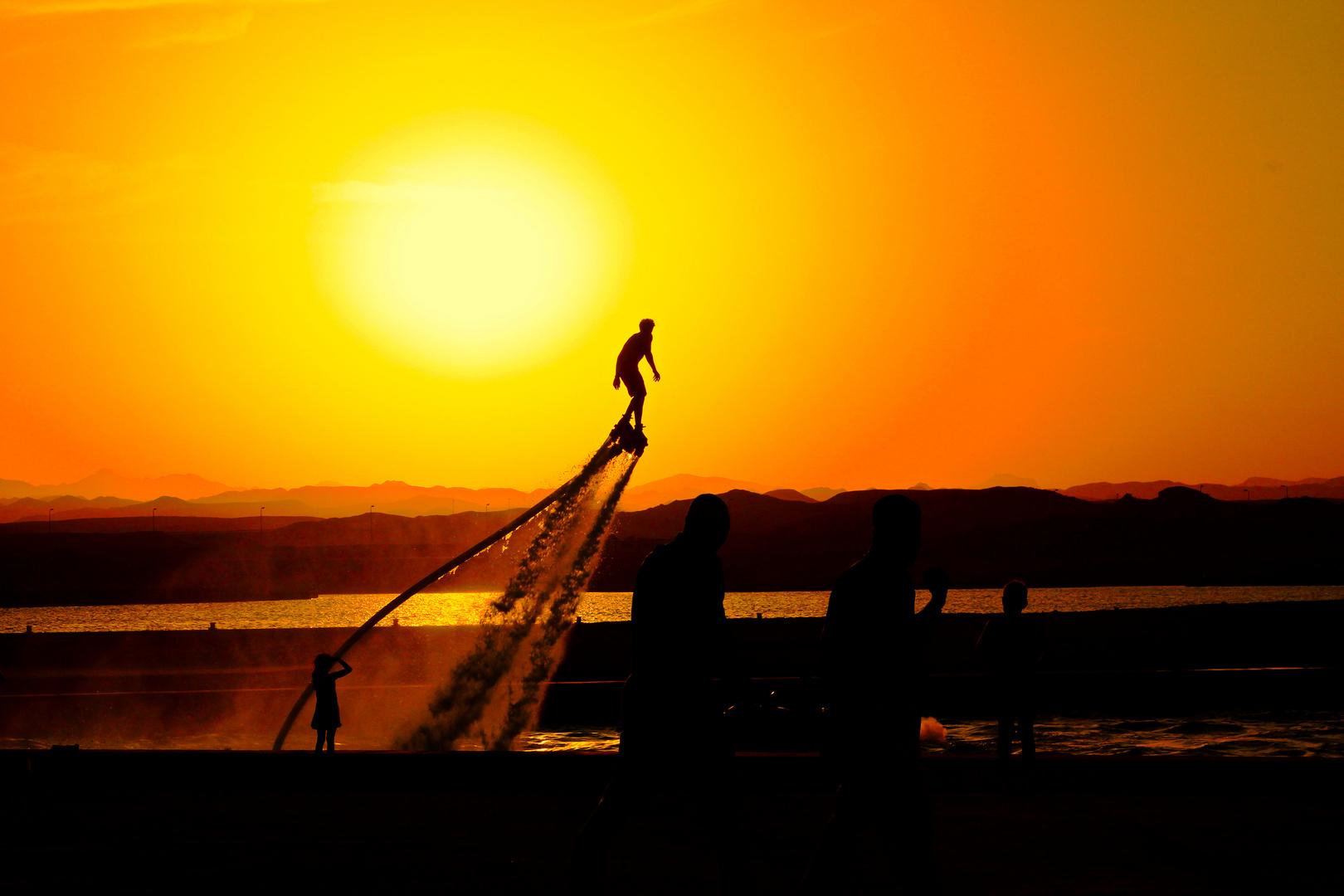Neuer Trendsport in Port Ghalib