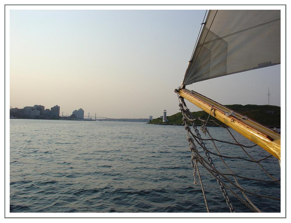 Neuer Weg zu Halifax