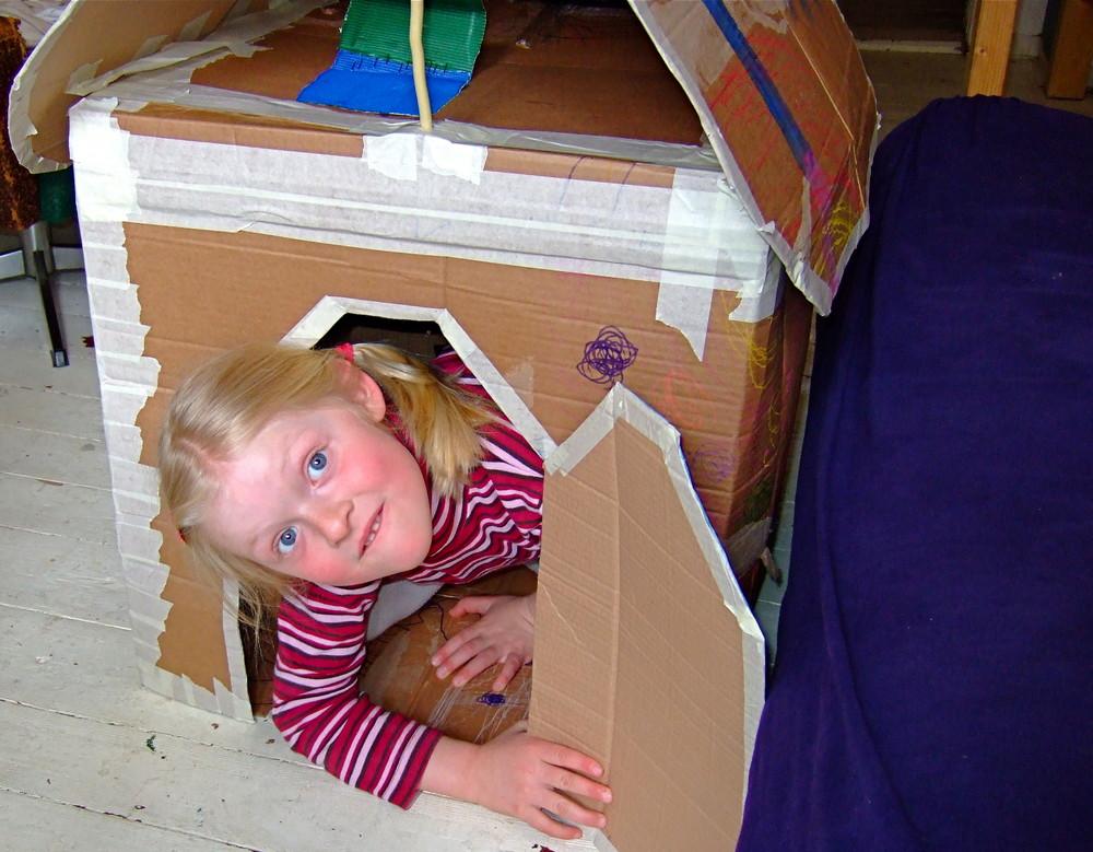 Neues Haus und neues Schwesterchen***Flipsky ist glücklich !