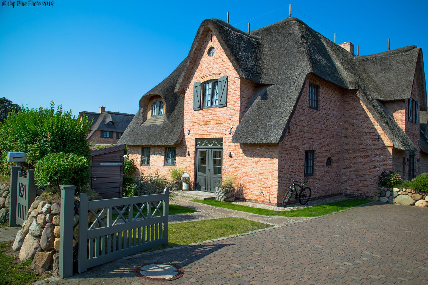 Neues Hus mit Reet in Wennigstedt Sylt