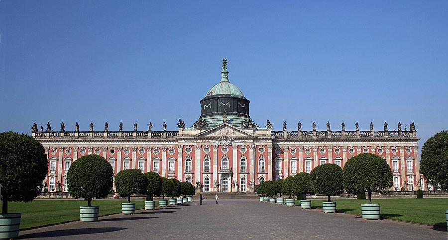 Neues Palais-Gartenseite