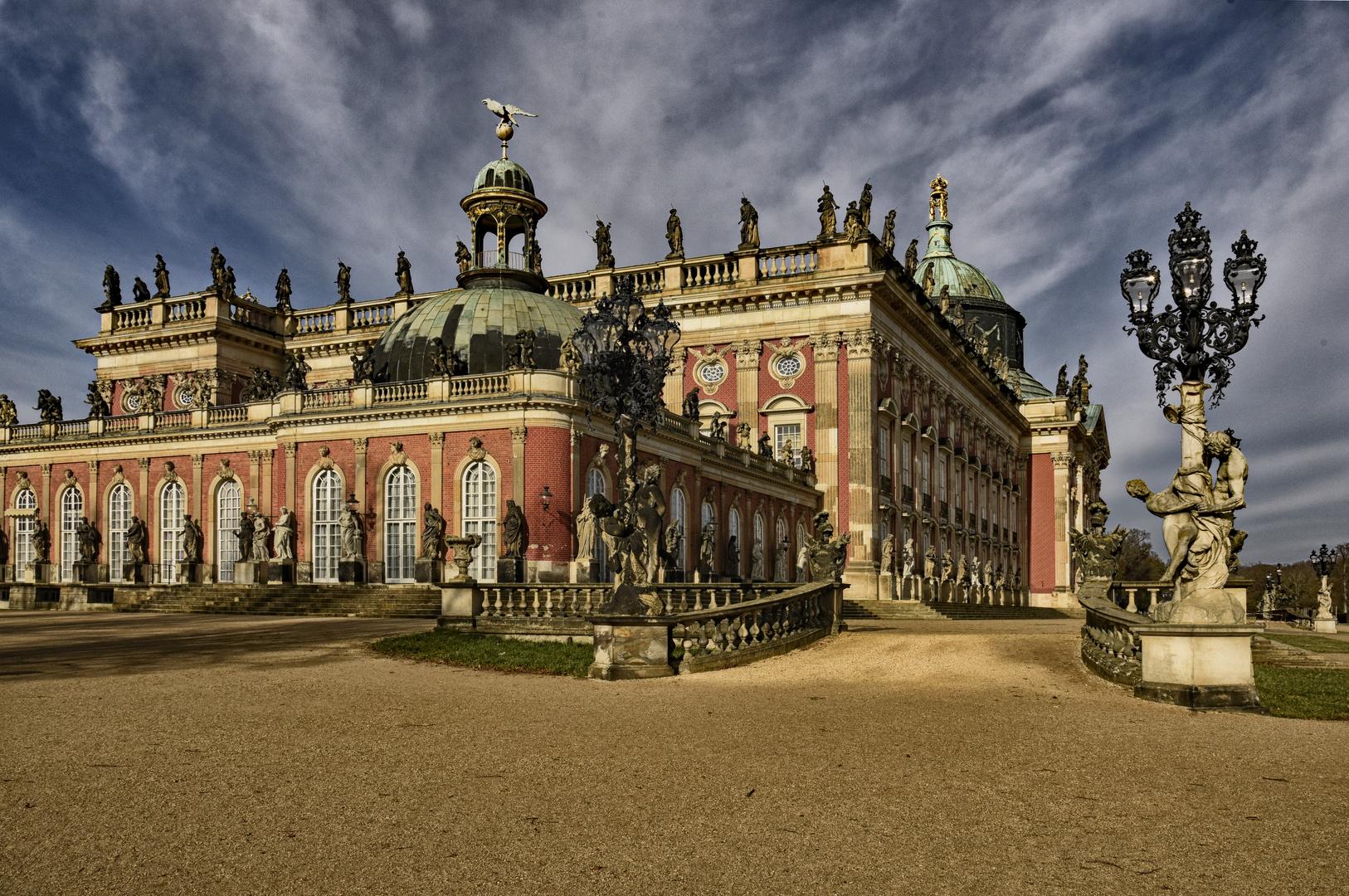 Neues Palais - Potsdam - 2020 Januar