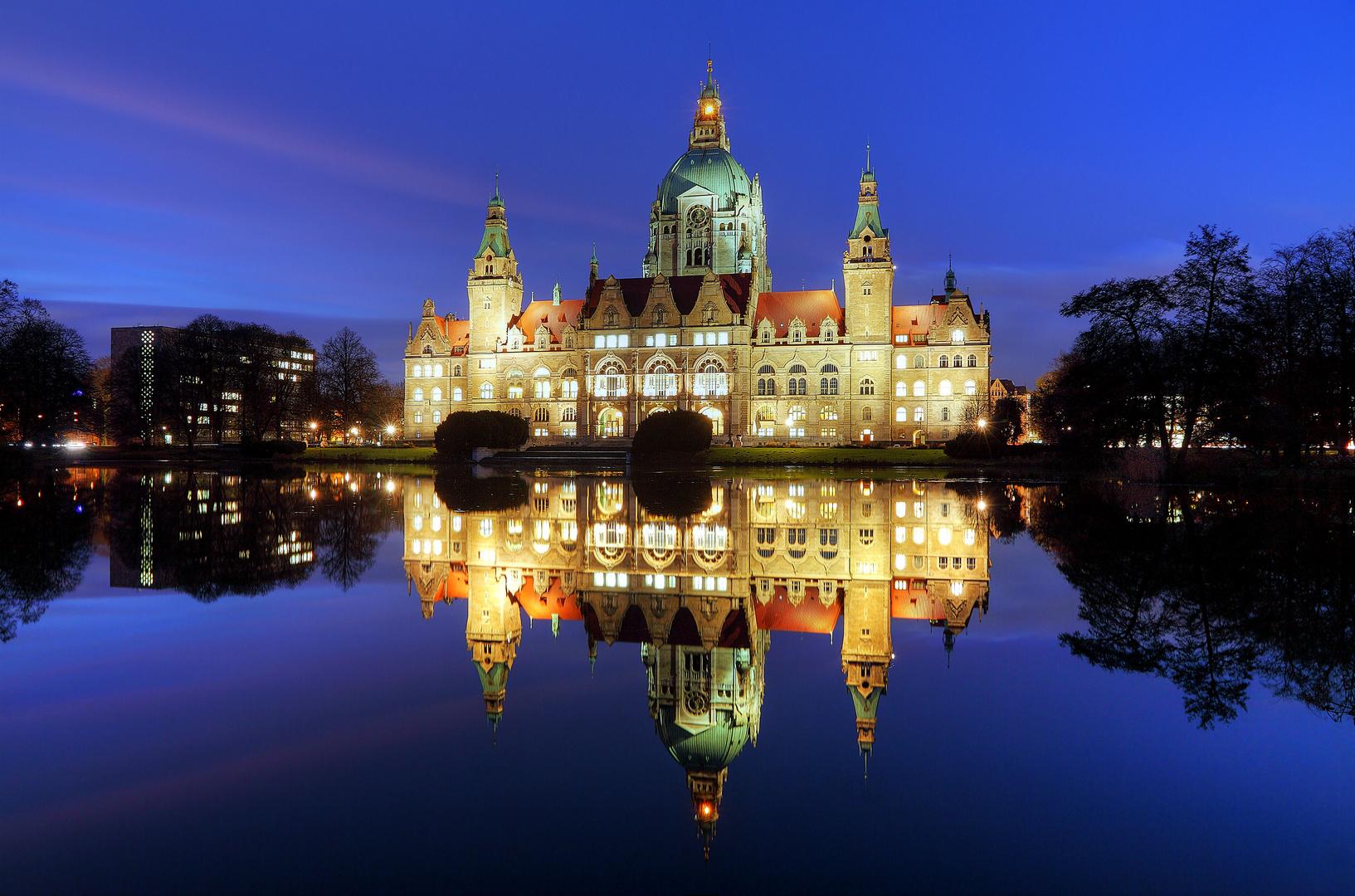 Moderne Architektur In Hannover Foto Bild: Neues Rathaus Hannover Foto & Bild