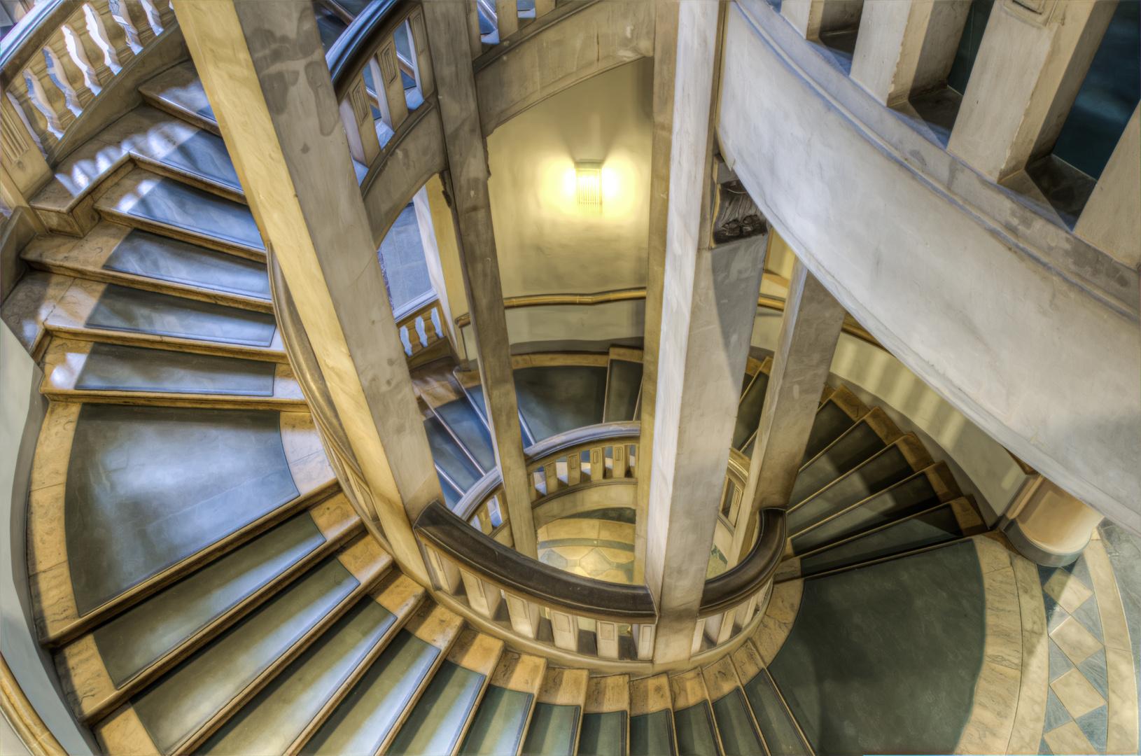 Moderne Architektur In Hannover Foto Bild: Neues Rathaus Hannover / Wendeltreppe Foto & Bild