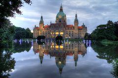 Neues Rathaus - Maschteich Illumiation #1