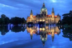 Neues Rathaus - Maschteich Illumiation #2