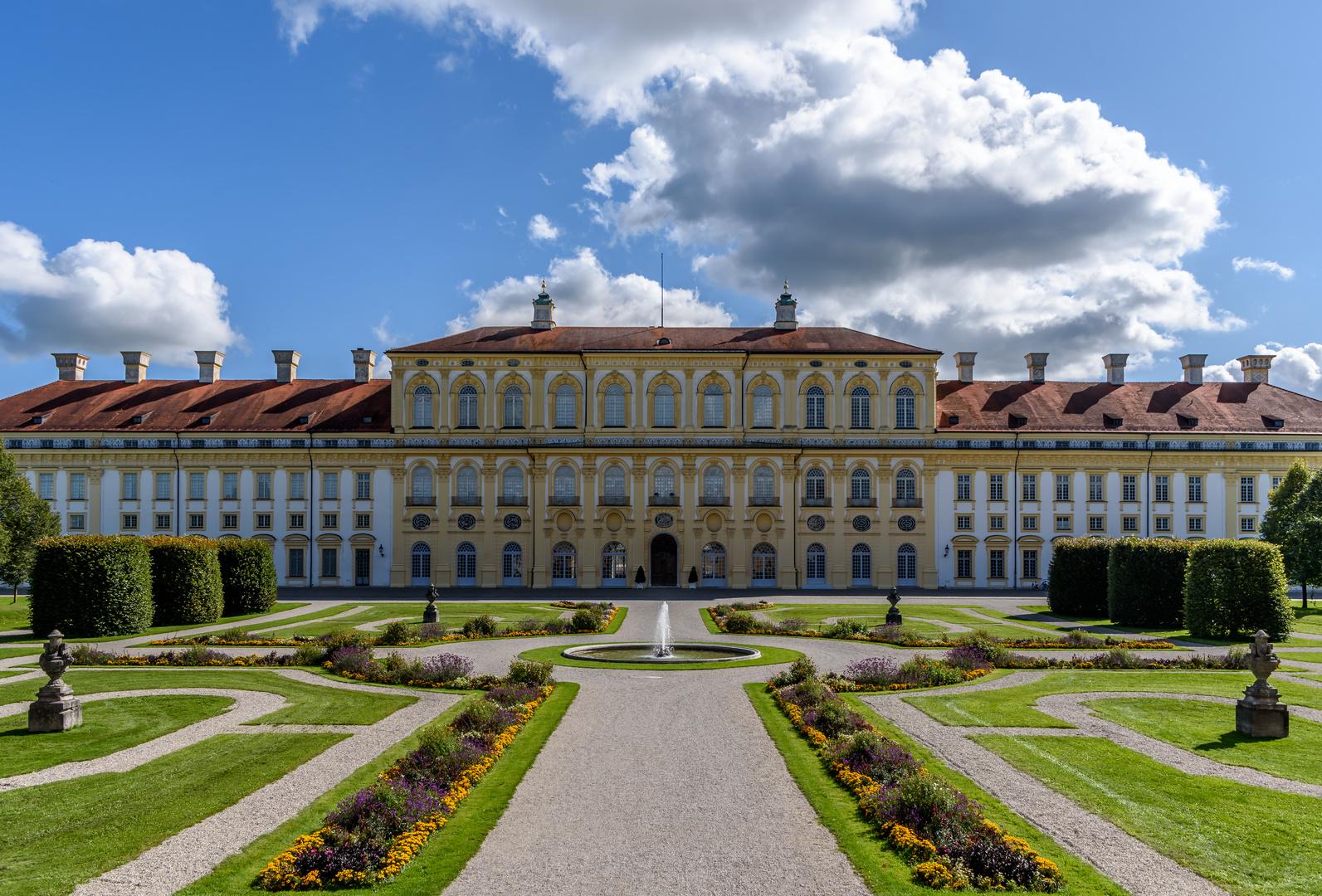 """""""Neues Schloss"""" der Schlossanlage Schleißheim ..."""