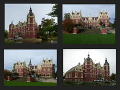 Neues  Schloss in Bad Muskau