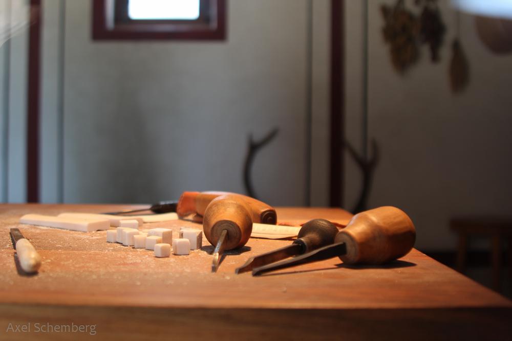 Neues vom Knochenschnitzer
