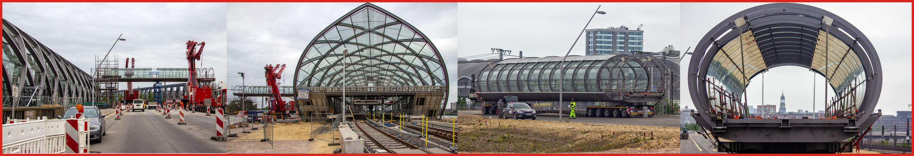 Neues von der Großbaustelle U4-Station ELBBRÜCKEN