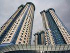 Neues Wohnhaus in Moskau. Mosfilmovskaya strasse