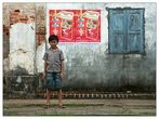 Neugier und Skepsis - Kampot, Kambodscha