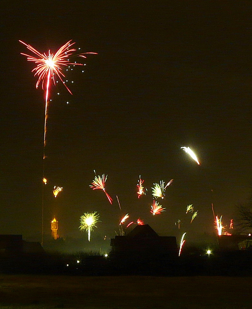 Neujahr 00:16 Uhr in Eutin