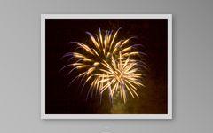 Neujahrs-Feuerwerk 1.1.2013 in Interlakn