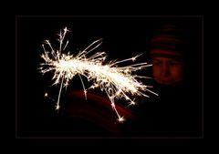 ° neujahrs-sternschnuppe