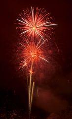Neujahrsfeuerwerk Interlaken