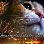 Neujahrsglückskatze 2010