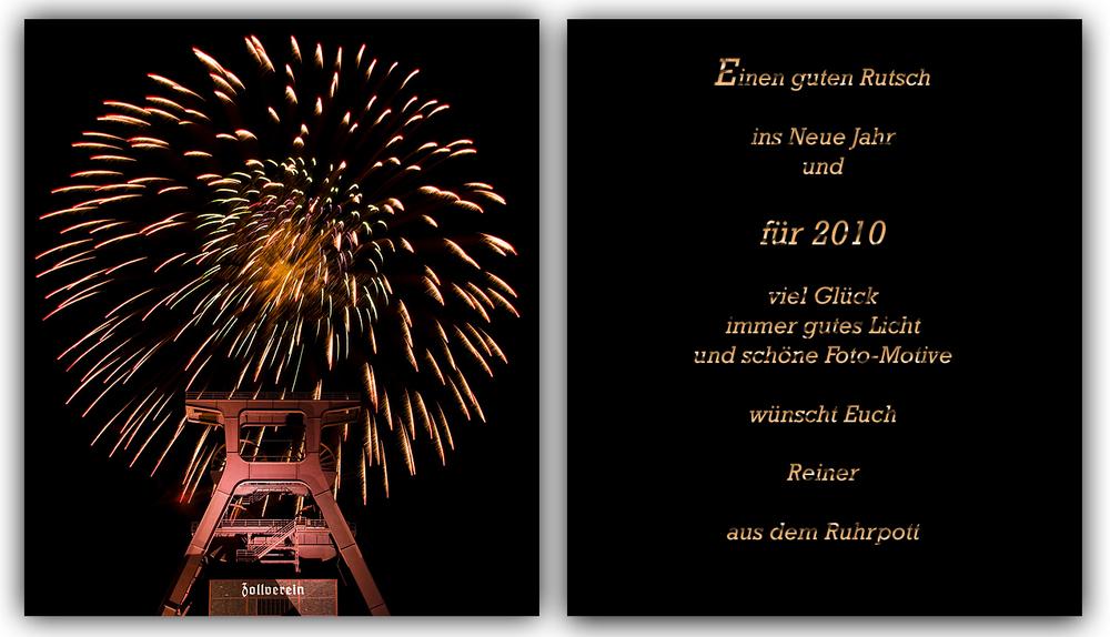 Neujahrsgruß 2010 Foto & Bild | karten und kalender, neujahrswünsche ...