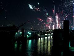 Neujahrsgruß aus Hamburg