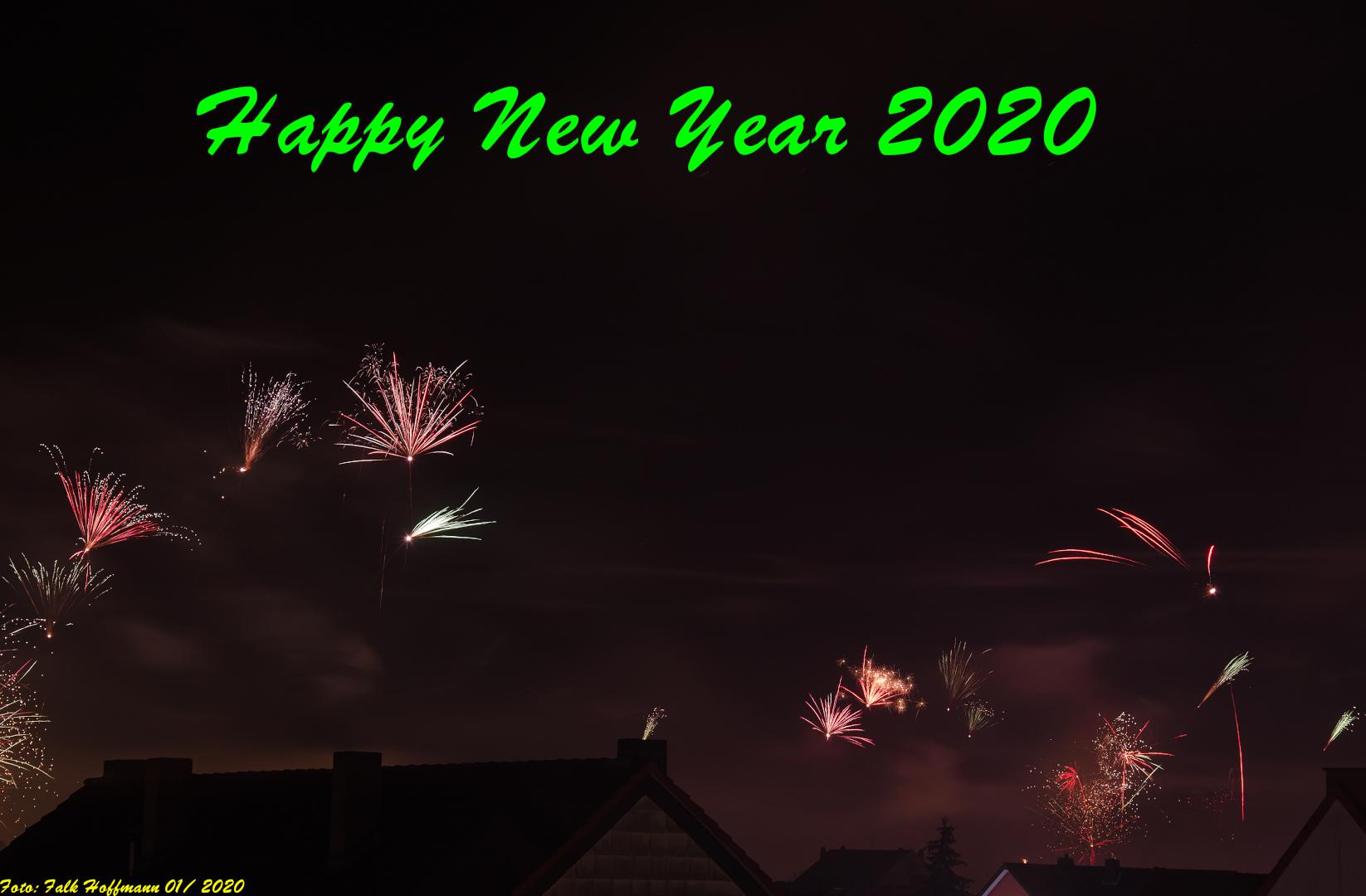 Neujahrsgruß