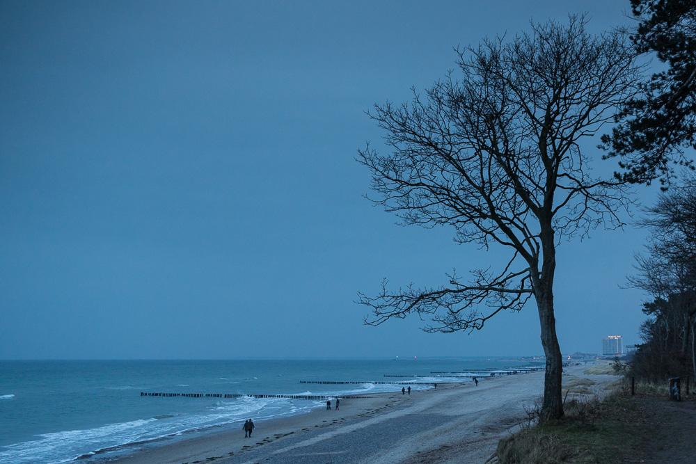 Neujahrsspaziergang an der Ostsee