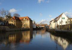 Neujahrsspiegel in Bamberg