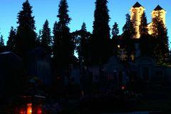 Neulich am Friedhof