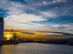 Neulich .... am Hafen