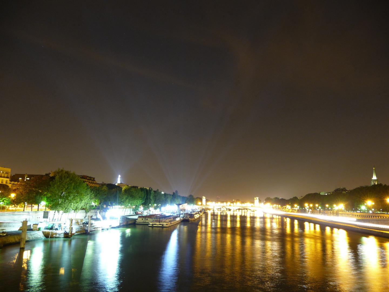 Neulich am Ufer der Seine in Paris