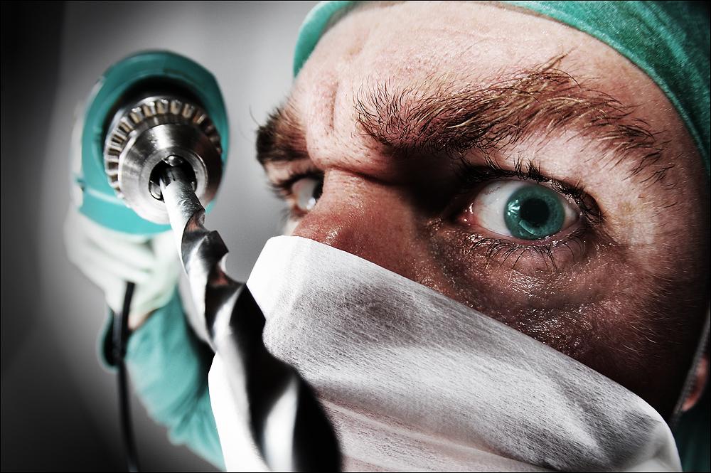 Neulich beim Zahnarzt...