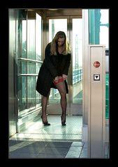 Neulich im Aufzug...
