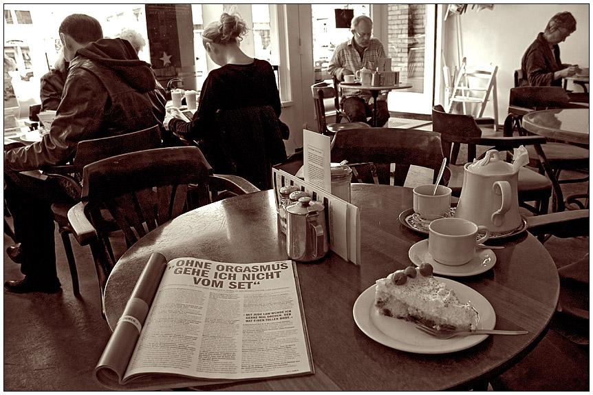 Neulich im Cafe...