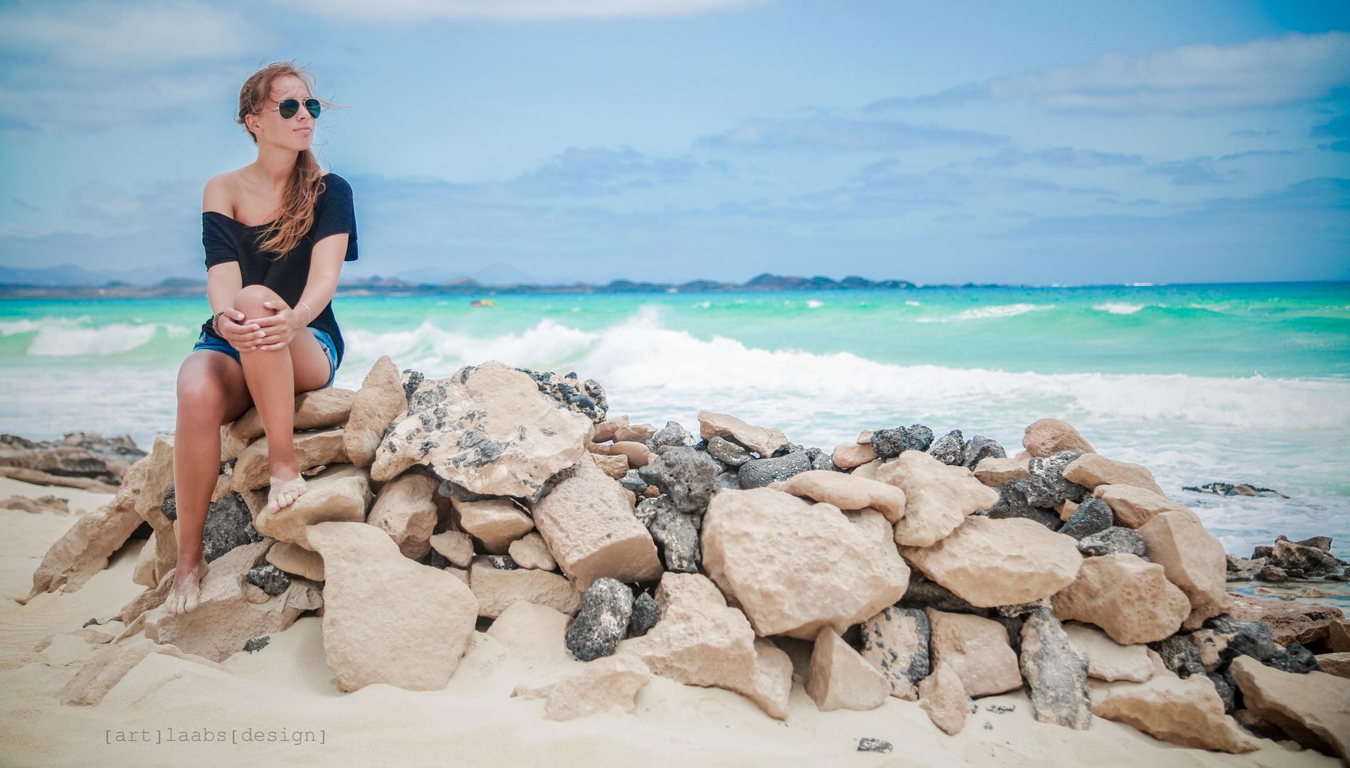 Neulich in Corralejo - Fuerteventura