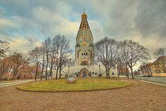 neulich in Leipzig - Russische Kirche